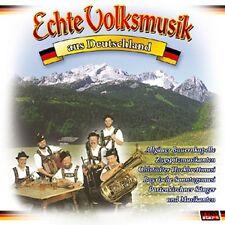 Echte Volksmusik aus Deutschland - Genuine Folk Music from Germany - Music CD