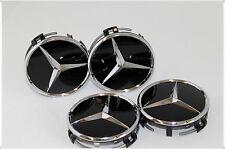 4 Nabenkappen Felgendeckel Mercedes AMG C E SL S C ML CLS B GLK CLK GL CLA SLK