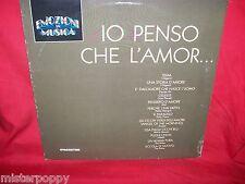 IO PENSO CHE L'AMOR LP 1990 MINT- Italy I Giganti The Rokes I Ribelli Equipe 84