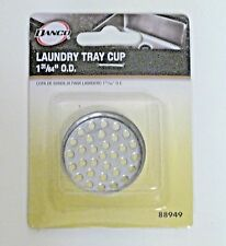 "Laundry Sink Tray Cup, Drop-in 1 31/64"" Stainless Steel, Danco"