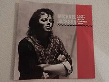 "Michael Jackson ""I Just Can't Stop Loving You"" PICTURE SLEEVE! MINT! BRAND NEW!!"
