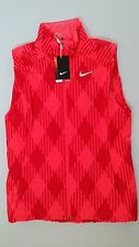Nike Womens Sport Golf Vest Pink Small S New 619787-603 $120