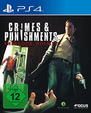 Sony PS4 Sherlock Holmes Crimes & Punishments and deutsch OVP USK12 günstig used