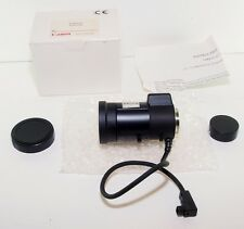 "RARE NEW CANON 5-40MM F/1.6 C-MOUNT HQ 1/3"" CCTV TV ZOOM LENS - METAL MOUNT"