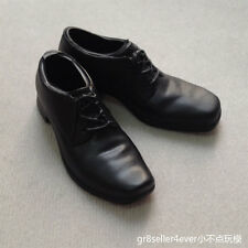 """1/6 scale classic Black boots shoes gentleman style fit 12"""" figure body toys"""