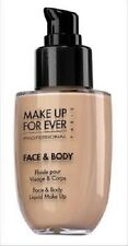 MAKE UP FOR EVER FACE & BODY LIQUID MAKEUP # 3 NATURAL  BEIGE 50 ML NEW