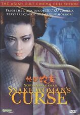 SNAKE WOMAN'S CURSE DVD Nobuo Nakagawa Asian Horror Synapse Films 1968 NEW