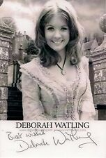 DEBORAH DEBBIE WATLING DR WHO VICTORIA SIGNED AUTOGRAPH 6 x 4 PRE PRINTED PHOTO