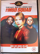 Claire Danes Omar Epps MOD SQUAD ~ 1999 Action Thriller Feature Film | UK DVD