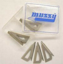 Muzzy 100 Grain 3 Blade Replacement Broadhead Blades