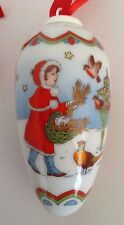 NEW 2001 Hutschenreuther Porcelain Christmas CONE  NIB