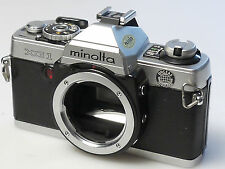 (PRL) MINOLTA XG BODY 135 35 mm SLR SPARE PARTS FOTORIPARATORE REPAIR REPARATION