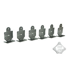 FMA 6cm Tall Metal Shooting Target Set for Airsoft Pistol Practice -6 PCS