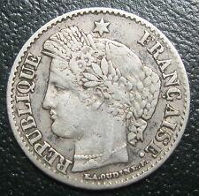 20 centimes 1850 A  Levrette Oreille Basse - CERES - ARGENT - II° REPUBLIQUE