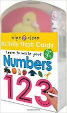 Wipe Clean Activity Flash Cards Learn to Write Your Numbers by Priddy Books NEW