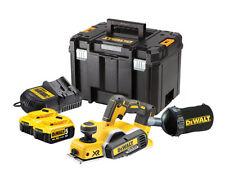XR DEWALT dcp580 Pialla per 18v/2x 5ah batterie/caricatore/dustbag/TSTAK CASE