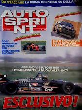 Autosprint 12 1990 Nuova Alfa - Indy. Modificate le rosse di Phoenix  SC.54