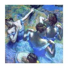 Edgar Degas, Blue Dancers Deco FRIDGE MAGNET, 1899 Fine Art Repro Mini Gift