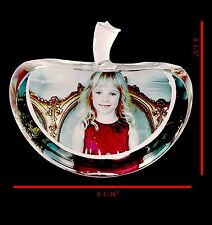 Personalized Gift-photo 3D crystal frame-apple