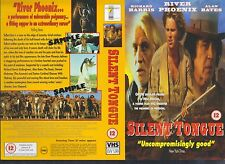 Silent Tongue, Richard Harris Video Promo Sample Sleeve/Cover #13832