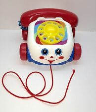 Fisher Price Chatter Phone Toddler Pull Toy