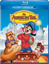 AN AMERICAN TAIL (1986 Animated Movie)  -  Blu Ray - Sealed Region free for UK