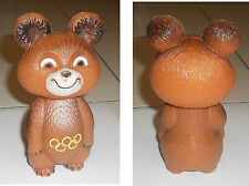 MASCOTTE OLIMPIADI MOSCA 1980 ORSO MISHA Mascot Olympic Games Moscow Bear