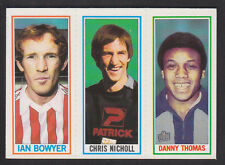Topps - Footballers (Blue Back) 1981 - # 90 132 138 Coventry So'ton Sunderland