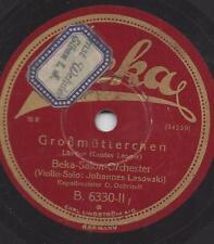 Johannes Lasowski Violine mit Oto Dobrindt 1929 :  La Paloma