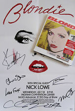 BLONDIE * GREATEST HITS / GHOSTS ... * DELUXE 2CD/DVD BOX SET w/ SIGNED POSTER!