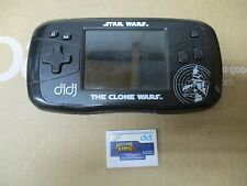 DIDJ LEAP FROG STAR WARS THE CLONE WARS CONSOLE & WOLVERINE & THE X-MEN GAME
