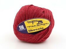5 Balls of Bertagna Filati Libeccio Tape Yarn #2361