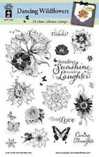 Hot off the Press DANCING WILDFLOWERS Clear Stamp Set HOTP1192