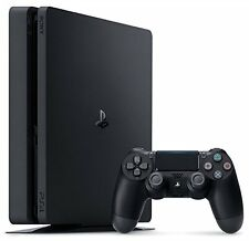 PlayStation 4 Slim 500GB Console - PS4 Black (Sony Retail - Latest Model) Open