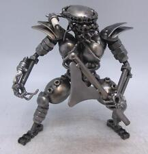 Predator Figure made from Recycled Car / Motorbike Engine Parts Scrap Metal Art