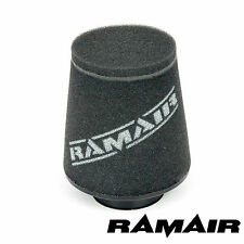 RAMAIR INDUCTION FOAM CONE AIR FILTER UNIVERSAL 60mm OFFSET NECK MADE IN THE UK