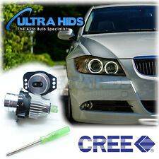 E90 LED Angel Eye Halo Light bulb No Error BMW 3 series E91white upgrade 320d