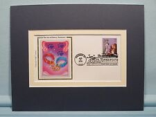 Walt Disney's - Lady and the Tramp and First Day Cover of its own stamp