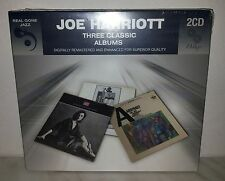 2 CD JOE HARRIOTT - 3 CLASSIC ALBUMS - NUOVO NEW