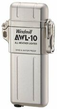 WINDMILL Lighter AWL-10 All Weather waterproof Silver 307-0001 Japan Import