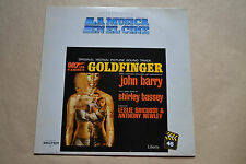 GOLDFINGER 007 VINILO LP ORIGINAL MUSICA DEL CINE JAMES BOND