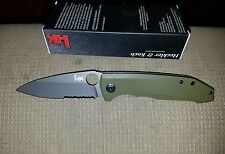 H&K BY BENCHMADE UNSUB SEMI-SERRATED ASSISTED OPEN KNIFE