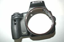 Sony SLT-A55 A55V Front Cover With Rubber and serial number plate