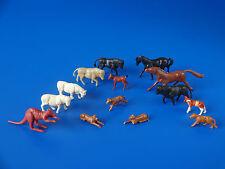 ** MAQUETTE H0 - lot des animaux (82)**