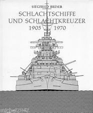Schlachtschiffe & schlachtkreuzer 1905 1970 MARINE WAR bateau destroyer Navy