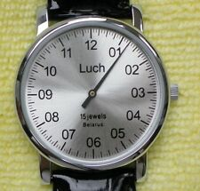 Rare Belarus Russian Mechanical Watch One Hand Luch Caliber 1801.1H 37471762 EN