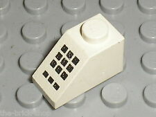 LEGO VINTAGE space white slope brick ref 3040p32 / set 5848 6893 6990 6472...