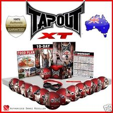 Danoz TapouT XT Fitness Program + DVDs + Body Band + Leg Band + MORE RRP: $149