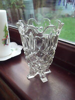 1950s Sowerby Glass Celery Vase pattern 2583 ~Pressed Glass Vase.