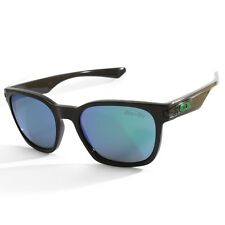 Oakley Garage Rock OO9175-04 Polished Black/Jade Iridium Sunglasses